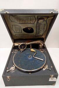 phonographe / VALISETTE  - DIAMOND  - TBE - fonctionnement ok + manivelle