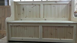 6ft Church pew Monks bench Settle with storage