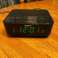 Philips Digital Alarm Clock  FM Radio Model# AJ3116M/37, Tested, working.