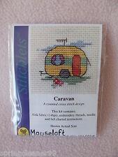 Mouseloft stitchlets CROSS STITCH KIT ~ CARAVAN ~ NUOVO