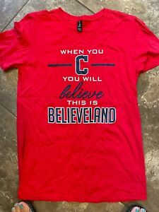 "Cleveland Indians ""Believeland"" T-Shirt"
