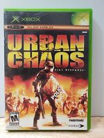 Urban Chaos: Riot Response (Microsoft Xbox, 2006) Complete With Manual FREE SHIP