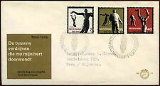 Netherlands 1965 Resistance Commemoration FDC First Day Cover #C27203