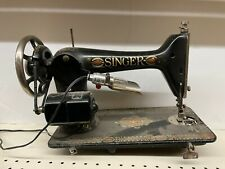 Singer Vintage Champion Sewing Machine Used Condition Sold As Is