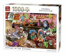 1000 Piece Animal Collection Jigsaw Puzzle - Cute Kittens In The Kitchen Cat 847