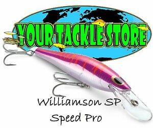 Williamson SP180D Speed Pro Deep You Pick Color & Quantity NIP Saltwater