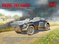 ICM 35110 - 1/35 - Sd.Kfz. 247 Ausf.B, German Command Armoured Vehicle