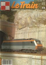 LE TRAIN N°44 BERNINA/232 TC 420 DE FLEISCHMANN EN HO/LOCO ALLEMANDES EN FRANCE