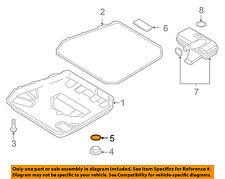 AUDI OEM 13-16 S6 Transaxle Parts-Drain Plug Seal N0138271