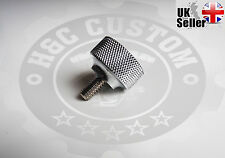 "1/4""-20 Seat Mount Bolt Screw Thumbscrew Harley Sportsters Dyna Fatboy Bobber"