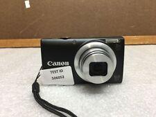 Canon PowerShot A4000 IS HD 16.0 MP 8X Optical Zoom Digital Camera - Black