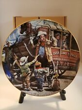 Children of the American Frontier Vintage Collector Plate The Desperadoes 1986