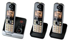Panasonic KX-TG6723GB Schwarz Schnurloses Telefon NEU & OVP