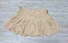 NUEVO da-nang Excedentes Mujer Minifalda bordado color carne skg231e55 Talla: XS