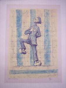 TIM (Louis MITELBERG): LE DOMINATEUR litografia 1967, campo concentramento ebrei