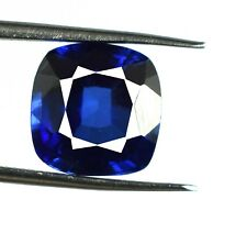 Loose Gemstone Kashmir Blue Sapphire 7.75 Ct Natural Cushion Cut Certified C1649