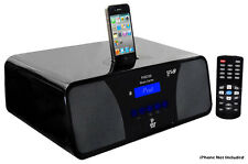 iPod/iPhone Alarm Clock Radio High-Performance 2.1 Channel 200 Watts Speaker