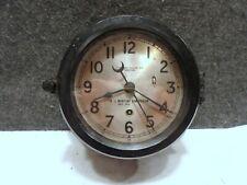 Vintage Ww2 Wwii Victory Ship Chelsea Clock Boston U.S. Maritime Commission
