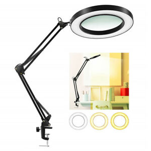 8X USB Magnifier LED light Lamp With Three Dimming Modes for Repair Crafts Kits