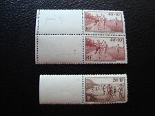 FRANCE - timbre yvert et tellier n ° 346 x2 345 n** (Z3) stamp french
