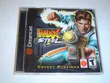 MAX STEEL Sega Dreamcast * NUOVISSIMO *
