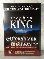 QUICKSILVER HIGHWAY DVD_RARE OOP_STEPHEN KING MOVIE_Region 4 Aust