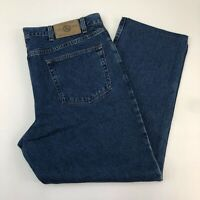 NWT Eddie Bauer Denim Jeans Mens 42 Blue Classic Fit 100% Cotton Medium Washed