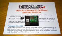 ACORN BBC MODEL B & MASTER 128 - MICRO-SPI MMC TYPE FLOPPY JUKEBOX & 2GB SD CARD