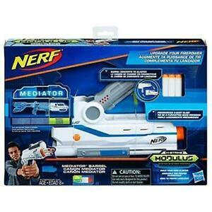 Nerf Mediator Modulus Firepower Mediator Barrel Extension Toy +8