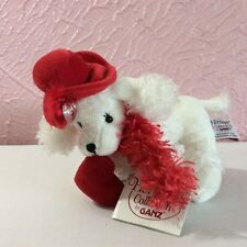 """Ganz Heritage Collection Plush Stuffed Animal 7"""" Victorian Poodle White With Tag"""