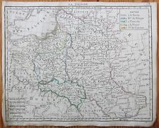 HERISSON: Map of Poland - 1800