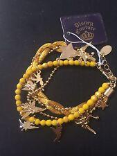 Disney Couture Tinkerbell Charm Bracelet