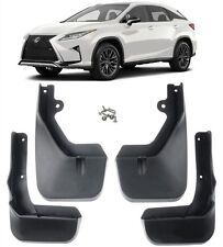 New Set Splash Guards Mud Guards Mud Flaps Fit FOR 2016-2019 Lexus RX350 RX450h