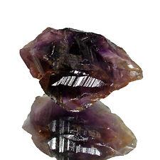 29.00Cts Rough Shape 100% Natural Violet Amethyst  Brazilian Gemstone CH 3879