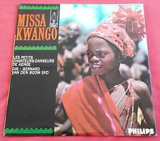 PETITS CHANTEURS DE KENGE LP MISSA KWANGO   VAN DEN BOOM  MINT