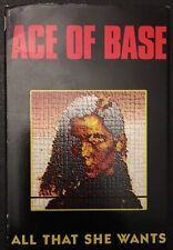 ACE OF BASE - ALL THAT SHE WANTS - 1992 German Cassette Single - TESTED - EX
