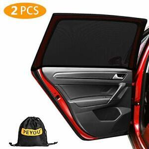 PEYOU Universal Car Side Rear Baby Window Sun Shade,?2020 Upgrade Version? B