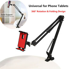 Universal Lazy Bed Flexible Arm Mount Stand Holder For 4-10.5'' Phone Tablet PC