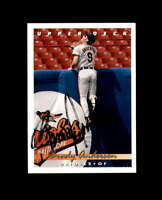 Brady Anderson Hand Signed 1993 Upper Deck Baltimore Orioles Autograph