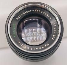 Schneider-Kreuznach Symmar 150mm F5.6 265mm F12 Large Format Camera Barrel Lens
