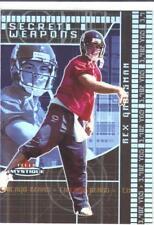 2003 FLEER MYSTIQUE SECRET WEAPONS #ed 08/50 REX GROSSMAN #12 Chicago Bears