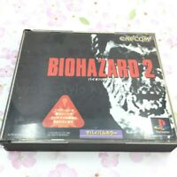 USED PS1 PS PlayStation 1 Bio-Hazard 2 55455 JAPAN IMPORT
