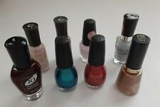 Lot of 11 Assorted Nail Polish Revlon, L.A. Colors,Wet N Wild,Sinful Colors