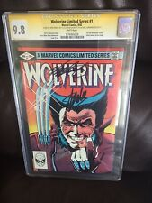 Wolverine Limited Series #1 CGC 9.8 SS 3X STAN LEE, CHRIS CLAREMONT, JOHN ROMITA