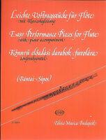Leichte Vortragsstücke für Flöte mit Klavierbegleitung