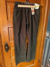 30x30 DOCKERS Men's Jean Cut 5-Pocket Classic Fit Corduroy Pants Khaki