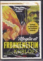 Dvd + Manifesto **LA MOGLIE DI FRANKENSTEIN** con Boris Karloff nuovo 1935