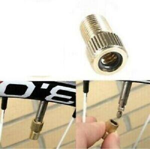 1 x Presta to Schrader Tyre Valve Adapter Converter Bike Wheel Bicycle Pump