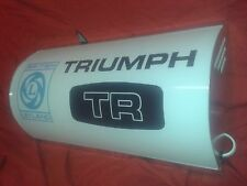 Triumph,leyland,TR,retro,garage,workshop,mancave,light up,sign,vintage,display