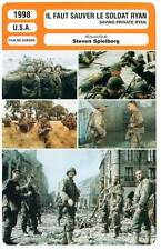 FICHE CINEMA : IL FAUT SAUVER LE SOLDAT RYAN - Spielberg1998 Saving Private Ryan